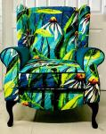 (THIS PARTICULAR BESPOKE CHAIR IS NOW SOLD BUT PLEASE GET IN TOUCH IF YOU WOULD LIKE TO KNOW MORE ABOUT OTHERS.) 
